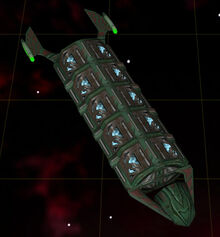 Romulan mining freighter