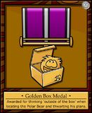 Golden Box Medal