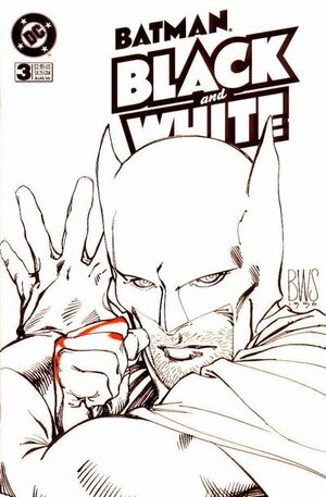Cover for Batman: Black and White #3