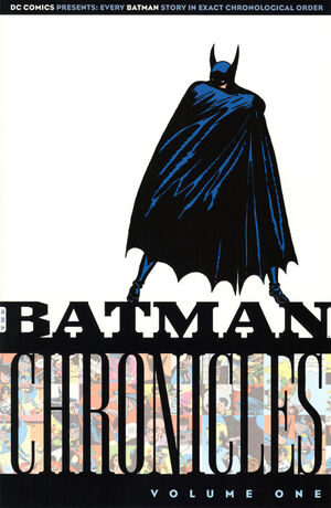 Cover for Batman Chronicles #1