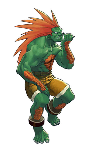 "Street Fighter ""Blanka"""