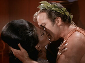 Uhura and Kirk's Kiss