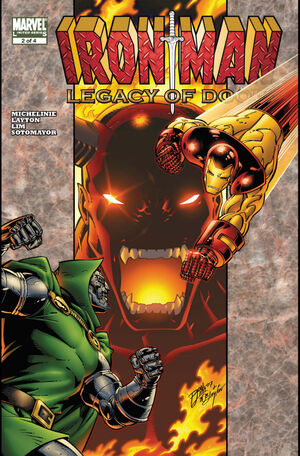 Iron Man Legacy of Doom Vol 1 2