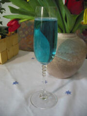 Cocktail blue angel
