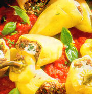 Stuffed peppers - Punjene paprika