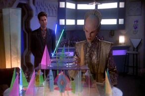 Mr Morden meets with Delenn