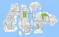 Liberty City Mapa
