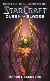 QueenBlades Novel Cover1