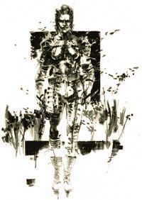 MGS3 The Boss Artwork