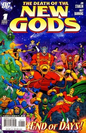 Cover for Death of the New Gods #1