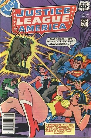 Cover for Justice League of America #166