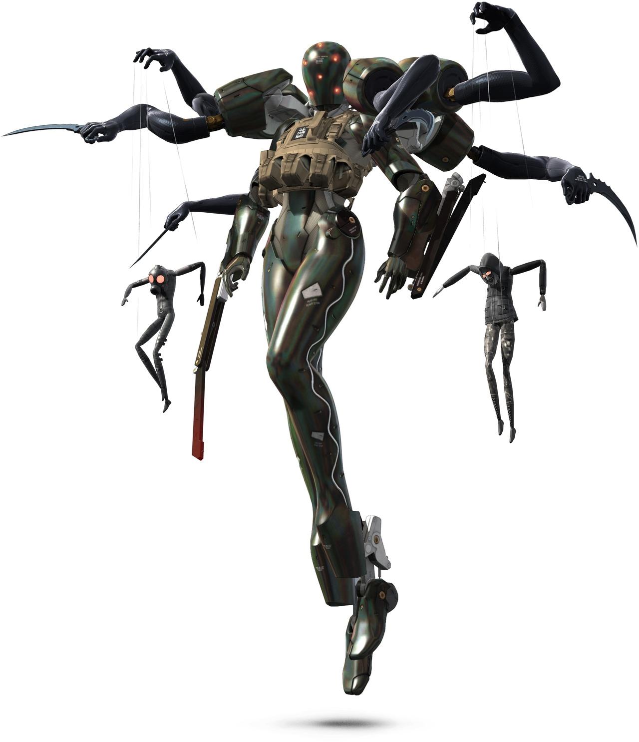 Mantis (Free Puppet) ScreamingMantisMGS4