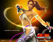 Christie monteiro wallpaper tekken 5