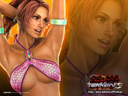 Christie monteiro wallpaper tekken 5 dark resurrection