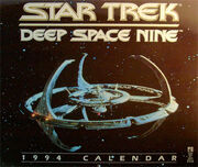 Star Trek DS9 Calendar 1994