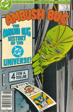 Cover for Ambush Bug #3