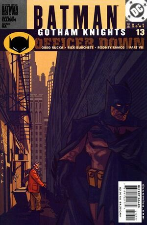Cover for Batman: Gotham Knights #13