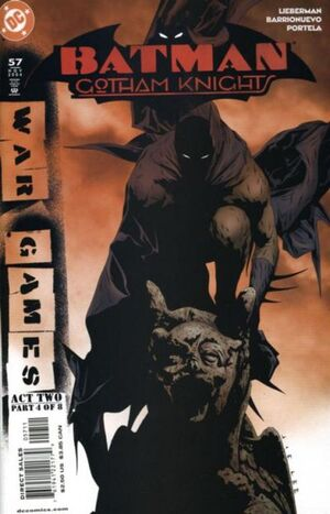 Cover for Batman: Gotham Knights #57
