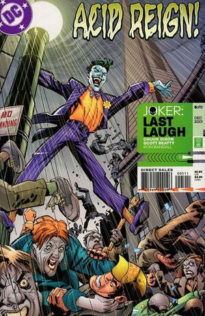Cover for Joker: Last Laugh #5