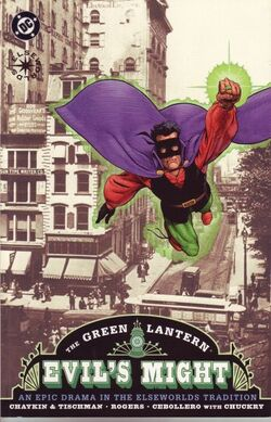 Green Lantern Evil's Might 1