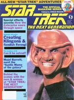 TNG Official Magazine issue 2 cover