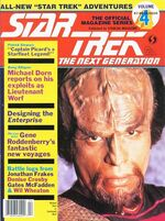 TNG Official Magazine issue 4 cover