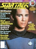 TNG Official Magazine issue 10 cover