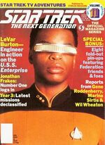 TNG Official Magazine issue 11 cover