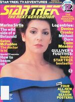 TNG Official Magazine issue 12 cover