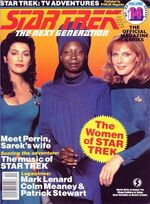 TNG Official Magazine issue 14 cover