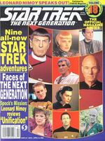 TNG Official Magazine issue 18 cover
