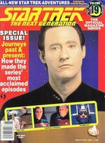 TNG Official Magazine issue 19 cover