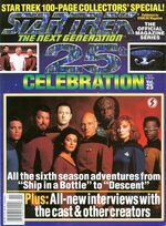 TNG Official Magazine issue 25 cover
