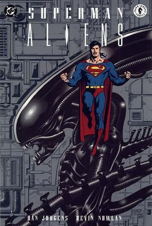 Cover for Superman/Aliens #1