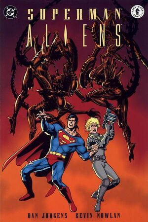 Cover for Superman/Aliens #2