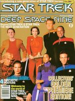 DS9 magazine issue 1 cover