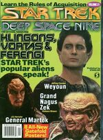 DS9 magazine issue 21 cover