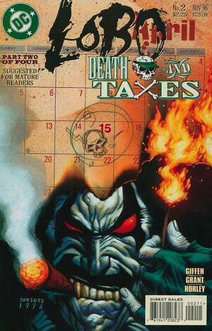 Cover for Lobo: Death and Taxes #2