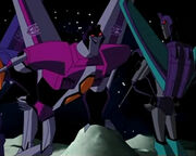 Starscream with Shescream