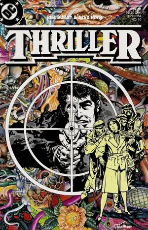 Cover for Thriller #10
