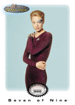 Seven of Nine expansion card S1