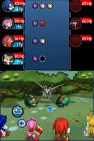 Battle in Sonic Chronicles