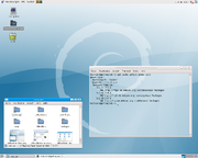 Gnome screenshot - version 2.22 (debian sid)