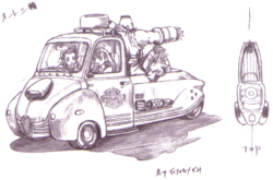 Car FFVII Sketch