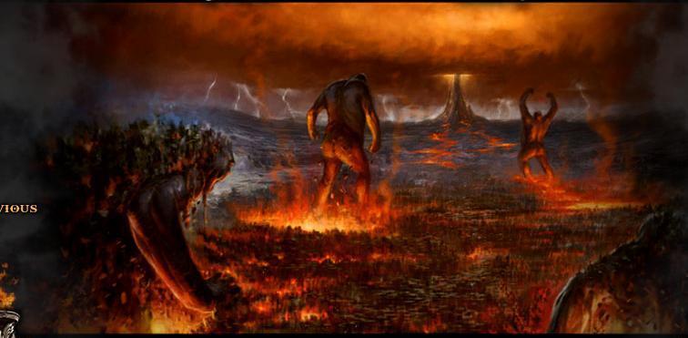 Mitologia griega el origen del universo y los dioses for God of war 3 jardines del olimpo