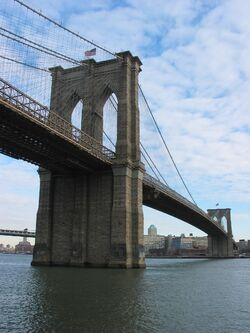 Brooklyn Bridge 2004-01-11