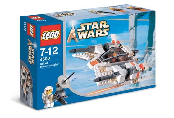Схемы и инструкции Lego Star Wars - Rebel Snowspeeder (Сноуспидер повстанцев) - Lego 4500.