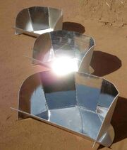Plastic cookits during training in Sudan