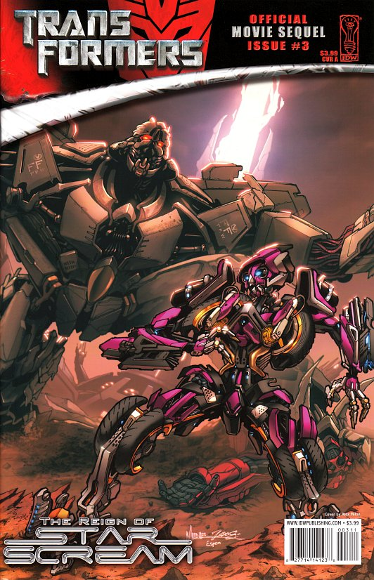 TRANSFORMERS 3: The Dark of the Moon (2011)... Spoiler/Rumeurs [page 2] - Page 3 ReignOfStarscream3_CoverA