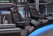 Intrepid class command chairs